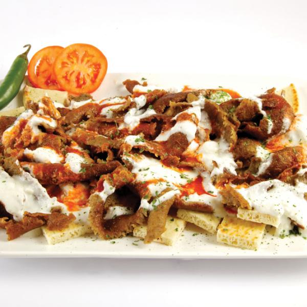 Traditional Iskender Kebab (Beef & Lamb Gyro)