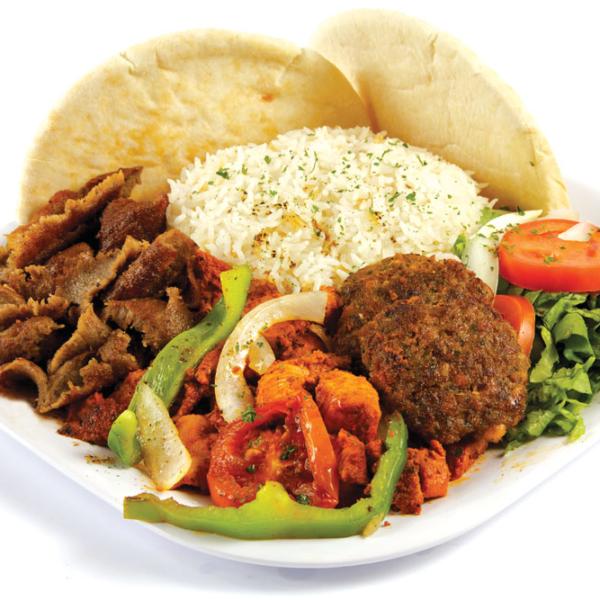 Bosphorus Kebab Combination